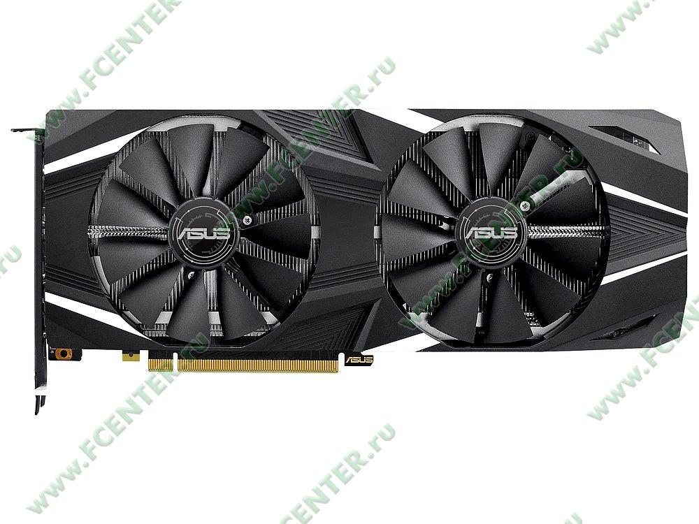 """Видеокарта ASUS """"GeForce RTX 2070 8ГБ"""" DUAL-RTX2070-A8G. Фото производителя 1."""