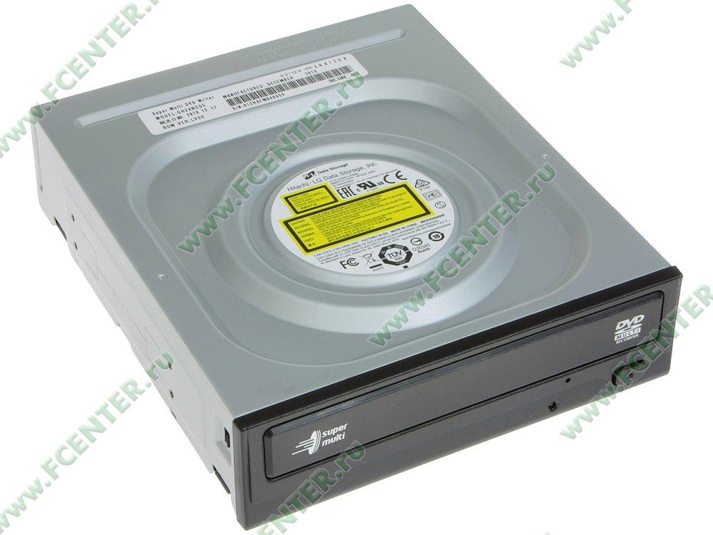 """Привод DVD±RW Привод DVD±RW LG """"GH24NSD5"""" (SATA). Вид спереди 1."""