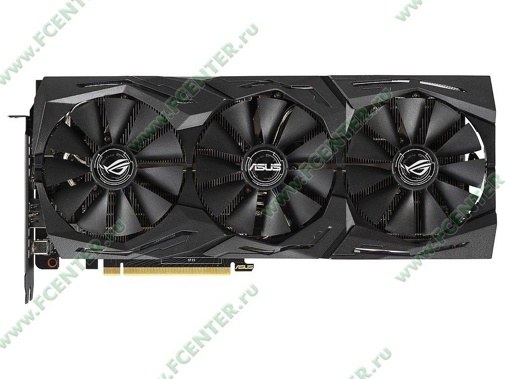 """Видеокарта ASUS """"GeForce RTX 2070 8ГБ"""" ROG-STRIX-RTX2070-A8G-GAMING. Фото производителя 1."""