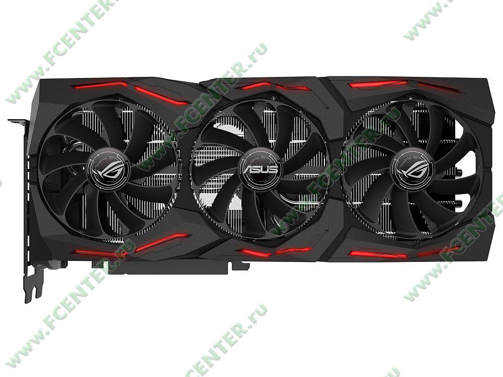 """Видеокарта ASUS """"GeForce RTX 2080 8ГБ"""" ROG-STRIX-RTX2080-A8G-GAMING. Фото производителя 1."""