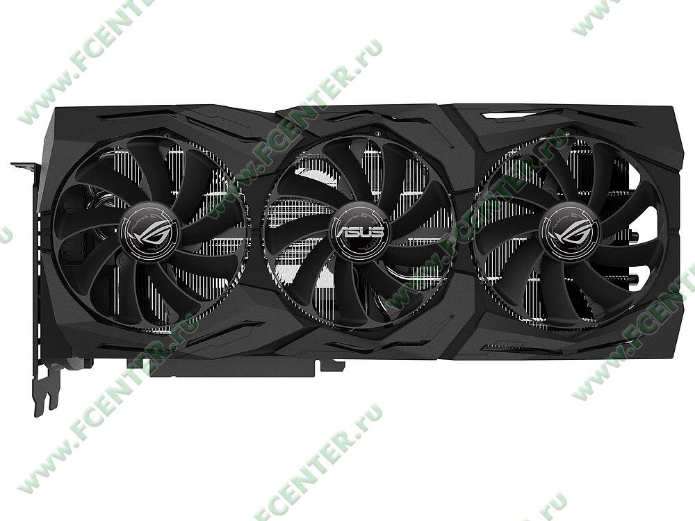 """Видеокарта ASUS """"GeForce RTX 2080 8ГБ"""" ROG-STRIX-RTX2080-O8G-GAMING. Фото производителя 1."""