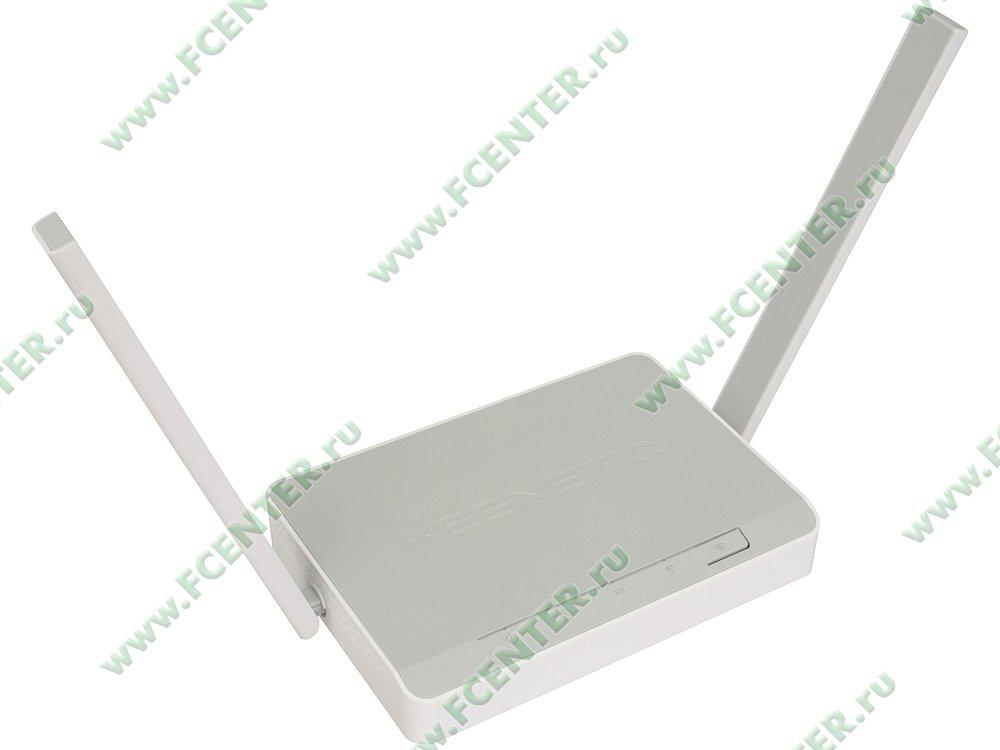"""Модем DSL KEENETIC """"DSL"""" VDSL2/ADSL2+ (LAN, WiFi). Вид спереди."""