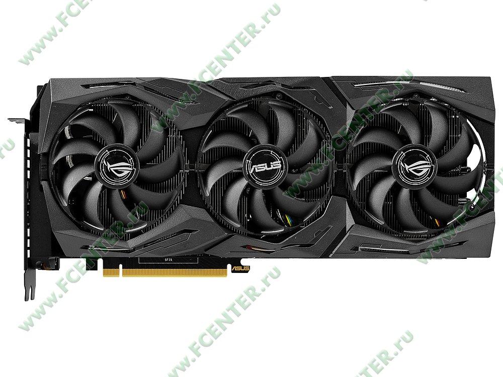 "Видеокарта ASUS ""GeForce RTX 2080 Ti 11ГБ"" ROG-STRIX-RTX2080TI-11G-GAMING. Фото производителя 1."