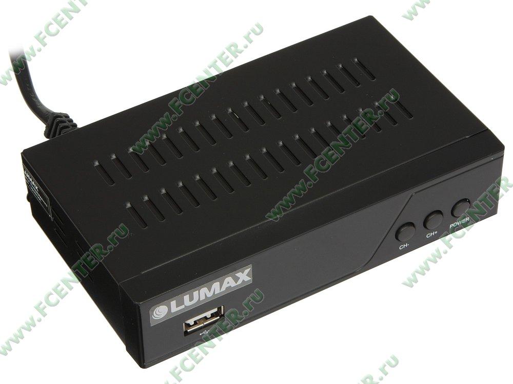 """Медиаплеер Lumax """"DV3205HD"""". Вид спереди."""