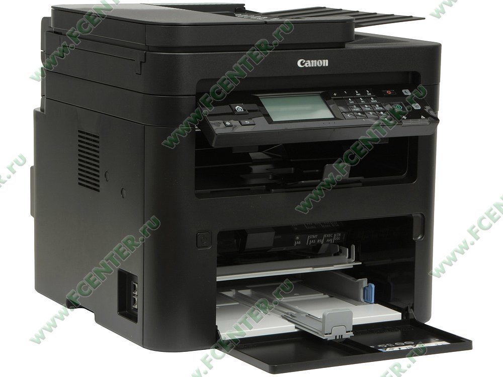 "Цветное многофункциональное устройство Canon ""i-SENSYS MF269dw"" (USB2.0, LAN, WiFi). Вид спереди 1."