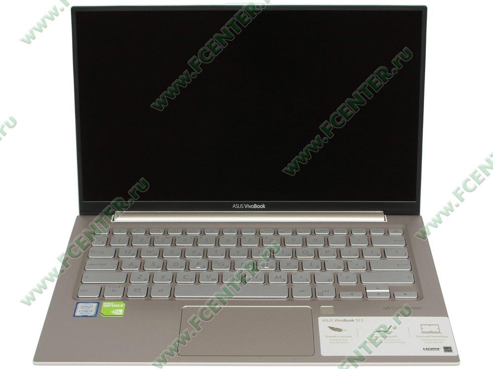 "Ноутбук ASUS ""VivoBook S330UN-EY024T"". Вид cпереди 1."
