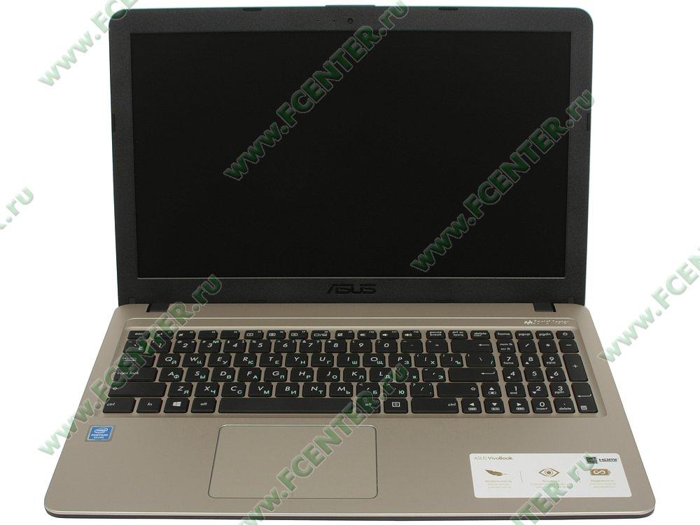 """Ноутбук ASUS """"X540MA-GQ120T"""". Вид cпереди 1."""
