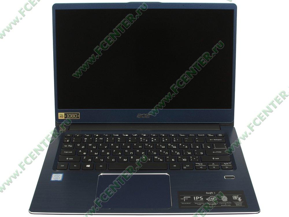 """Ноутбук Acer """"Swift 3 SF314-54-39E1"""". Вид cпереди 1."""