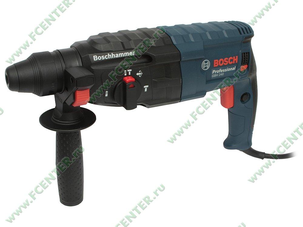 "Перфоратор Bosch ""GBH 240 Professional"". Вид спереди."