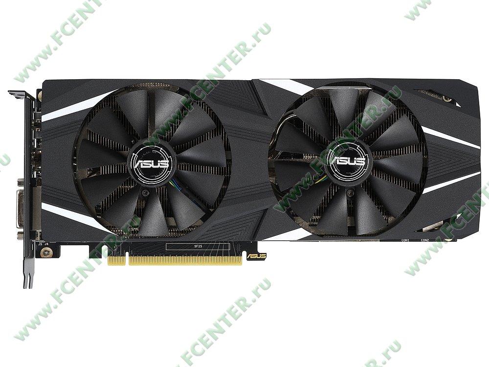 """Видеокарта ASUS """"GeForce RTX 2060 6ГБ"""" DUAL-RTX2060-A6G. Фото производителя 1."""