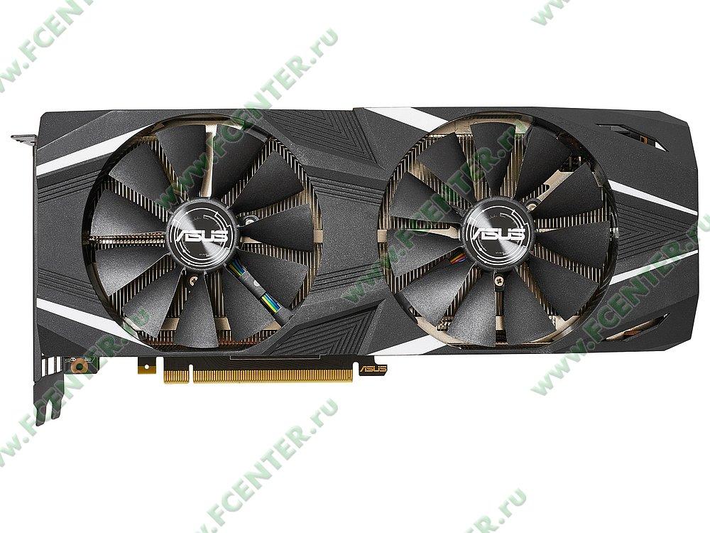 """Видеокарта ASUS """"GeForce RTX 2080 Ti 11ГБ"""" DUAL-RTX2080TI-11G. Фото производителя 1."""
