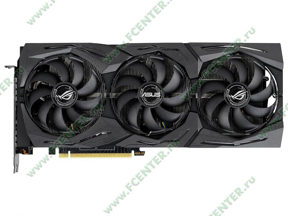 """Видеокарта ASUS """"GeForce RTX 2080 8ГБ"""" ROG-STRIX-RTX2080-8G-GAMING. Фото производителя 1."""