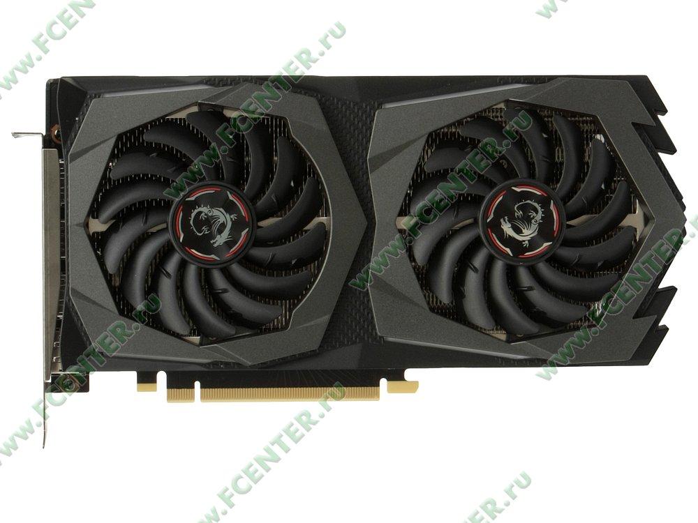 "Видеокарта MSI ""GeForce RTX 2060 GAMING Z 6G 6ГБ"". Вид сверху."