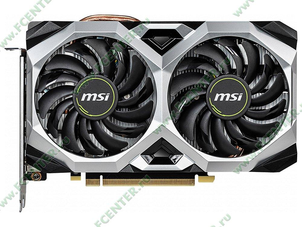 """Видеокарта MSI """"GeForce RTX 2060 VENTUS XS 6G OC 6ГБ"""". Фото производителя 1."""