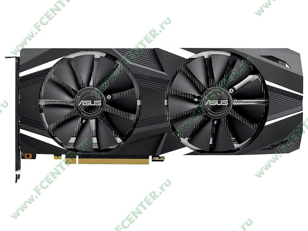 """Видеокарта ASUS """"GeForce RTX 2070 8ГБ"""" DUAL-RTX2070-8G. Фото производителя 1."""