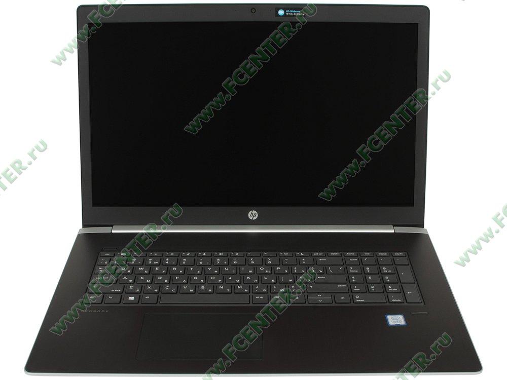 "Ноутбук HP ""ProBook 470 G5"". Вид cпереди 1."