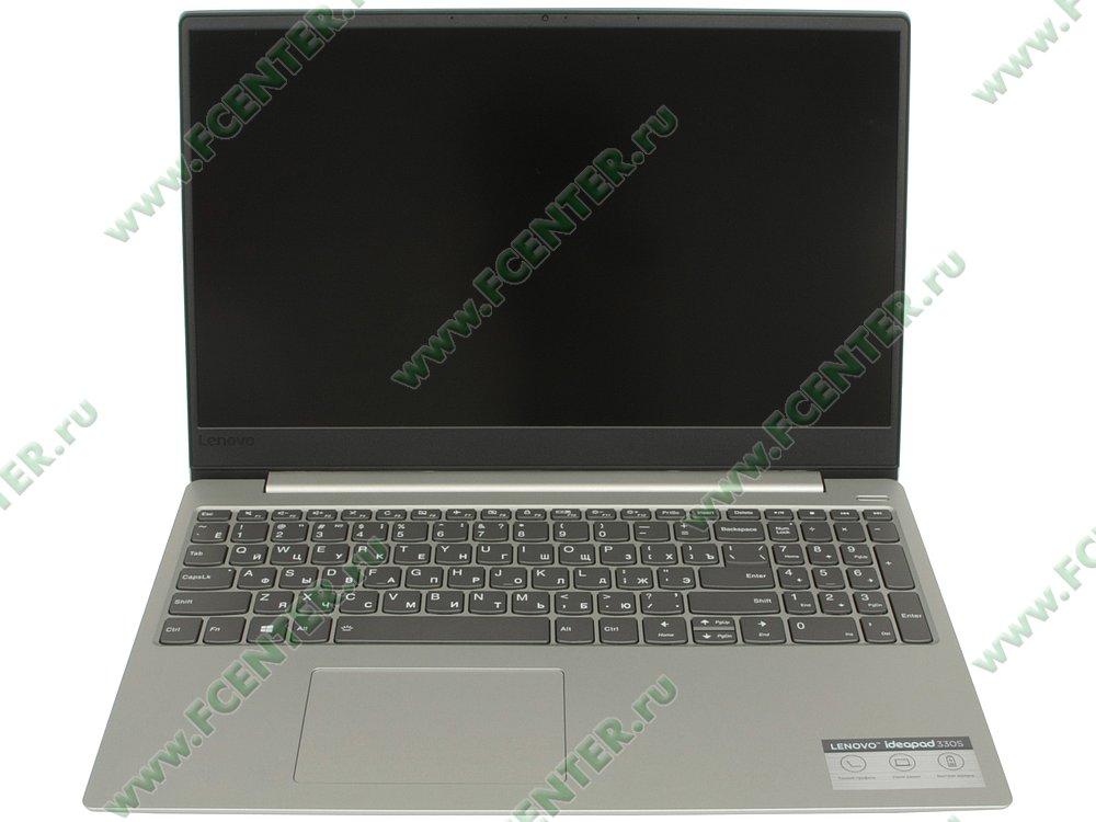 """Ноутбук Lenovo """"IdeaPad 330S-15IKB"""". Вид cпереди 1."""