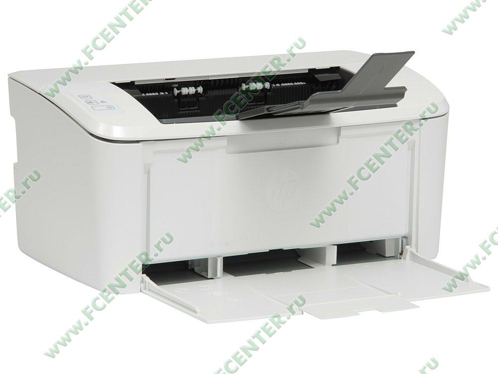 """Лазерный принтер HP """"LaserJet Pro M15w"""" A4 (USB2.0, WiFi). Вид спереди 1."""