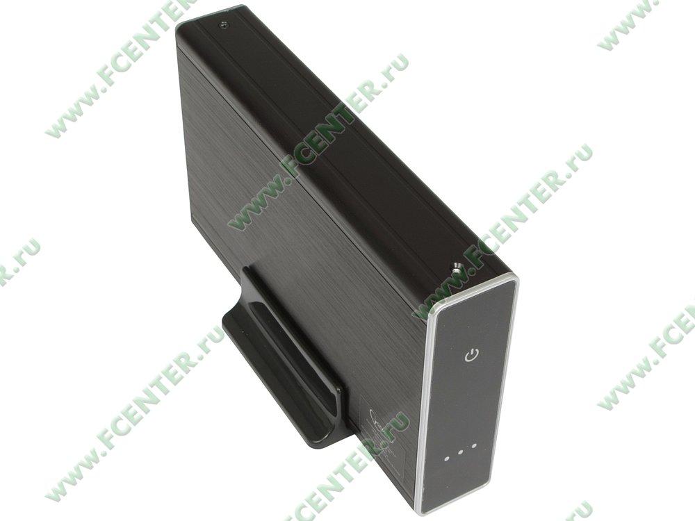 "Контейнер Gembird ""EE3-U3S-80"" (USB3.0). Вид спереди."
