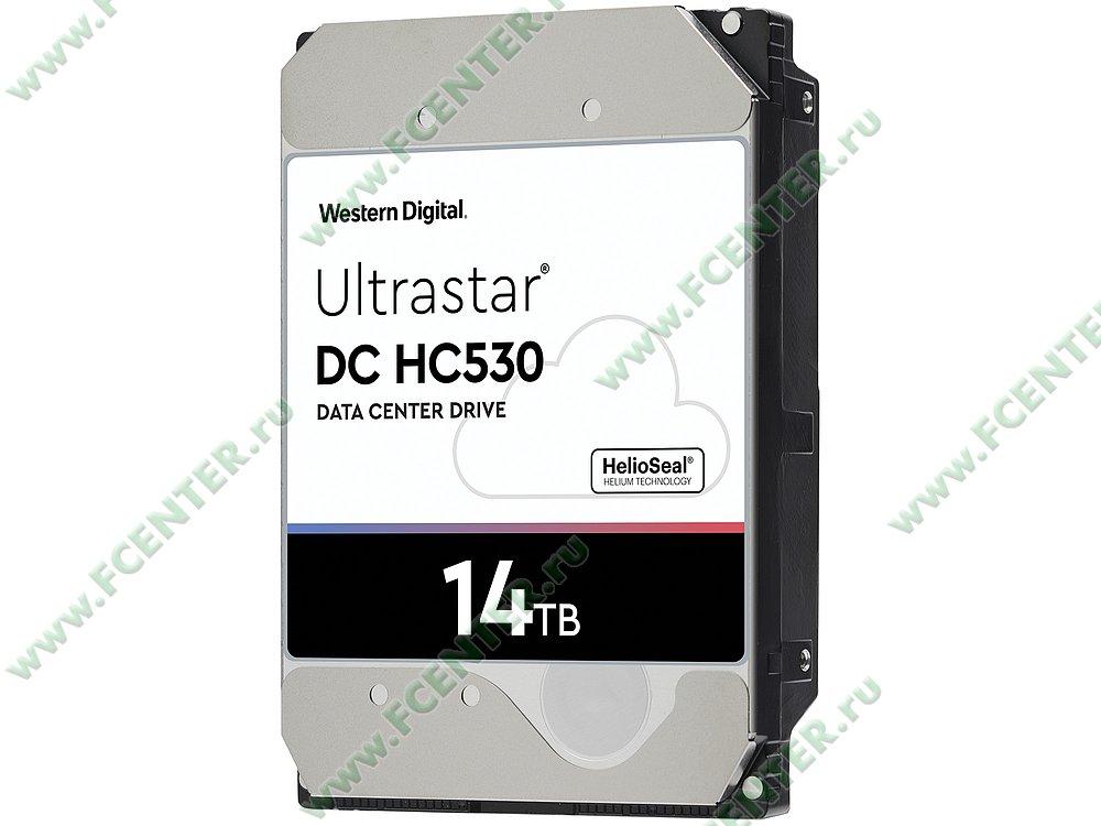 "Жесткий диск 14ТБ Western Digital ""Ultrastar DC HC530"" (SATA III). Фото производителя."
