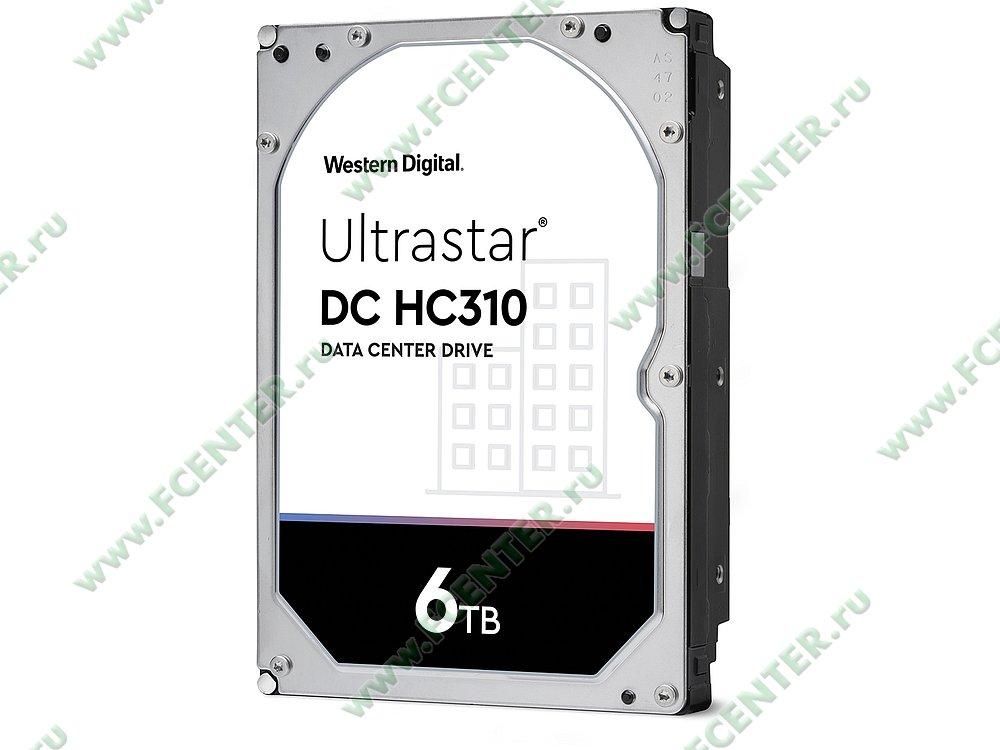 """Жесткий диск 6ТБ Western Digital """"Ultrastar DC HC310"""" (SAS). Фото производителя."""