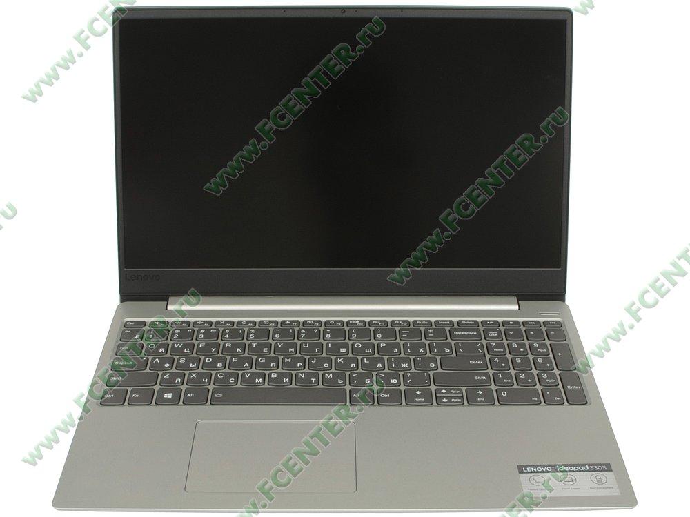 """Ноутбук Lenovo """"IdeaPad 330S-15IKB"""". Вид спереди 1."""
