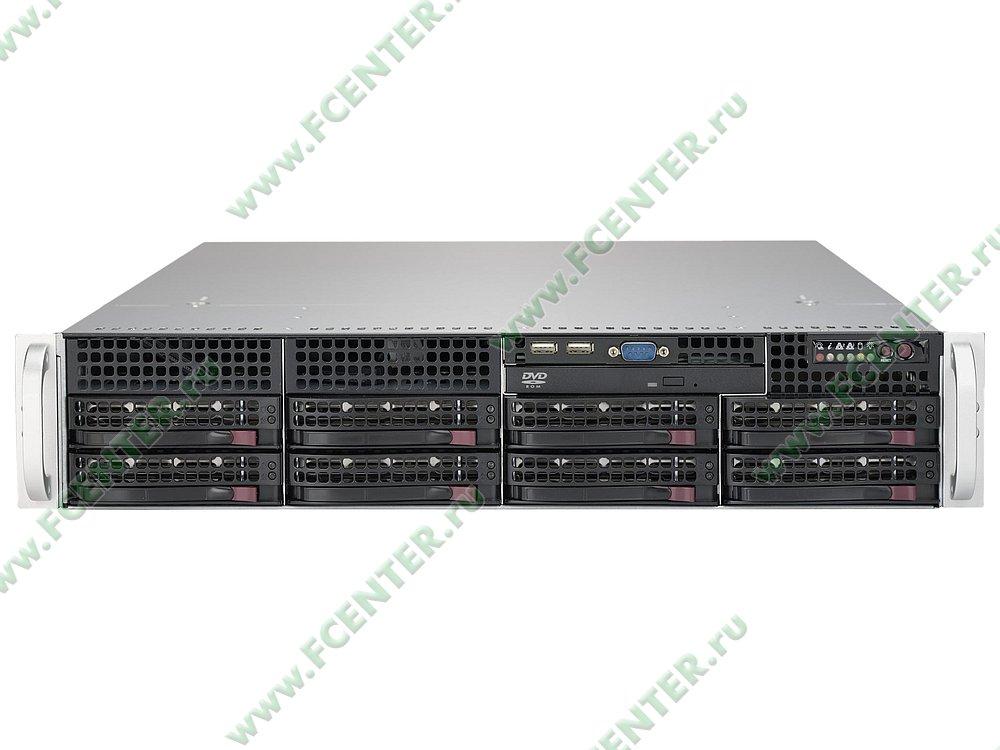 "Платформа Supermicro ""SuperServer SYS-6029P-TR"". Фото производителя."