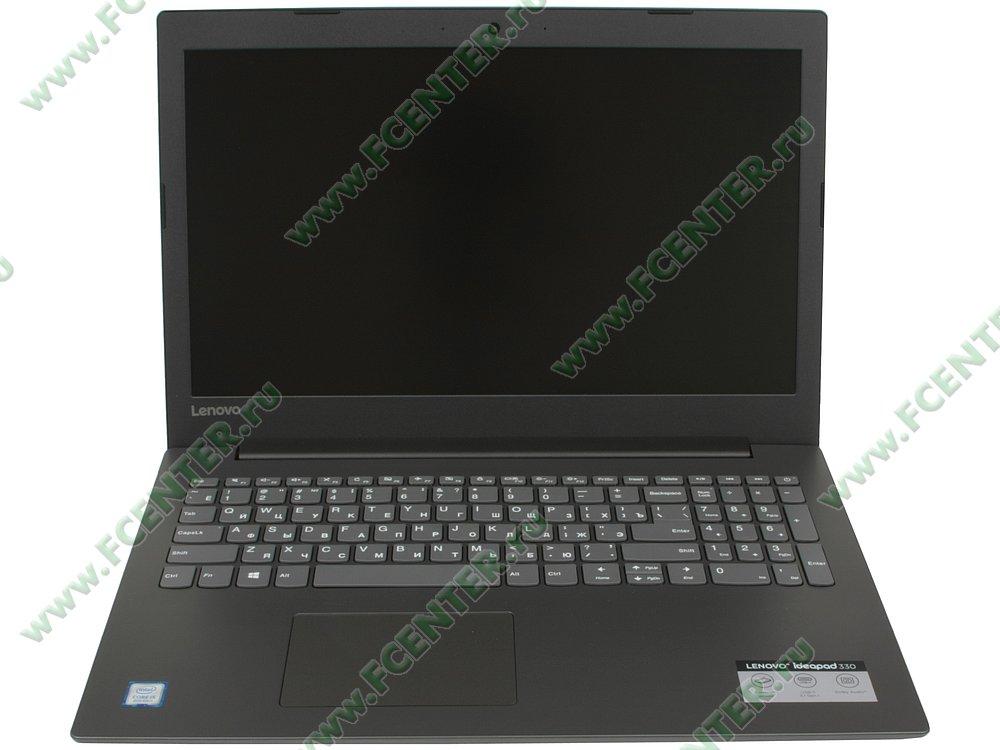 """Ноутбук Lenovo """"IdeaPad 330-15ICH"""". Вид cпереди 1."""