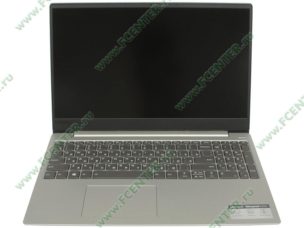 """Ноутбук Lenovo """"IdeaPad 330S-15AST"""". Вид cпереди 1."""
