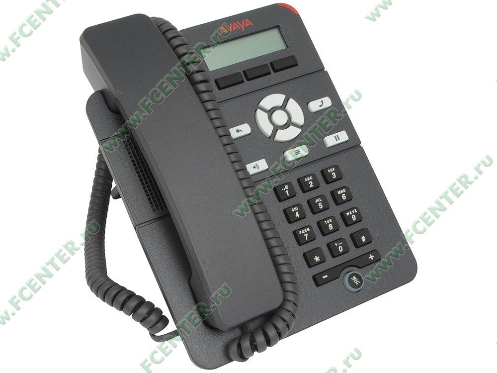"""VoIP-телефон Avaya """"J129"""". Вид спереди."""