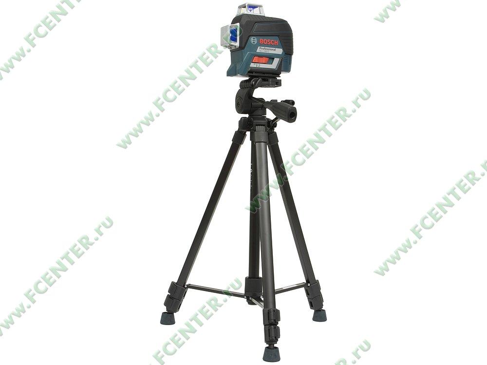 """Нивелир Bosch """"GLL 3-80 C + BT 150 Professional"""", лазерный. Вид спереди 1."""