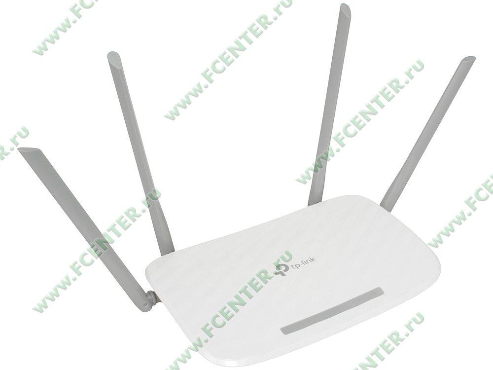 """Беспроводной маршрутизатор Беспроводной маршрутизатор TP-Link """"Archer A5"""" WiFi 867Мбит/сек. + 4 порта LAN 100Мбит/сек. + 1 порт WAN 100Мбит/сек. . Вид спереди."""