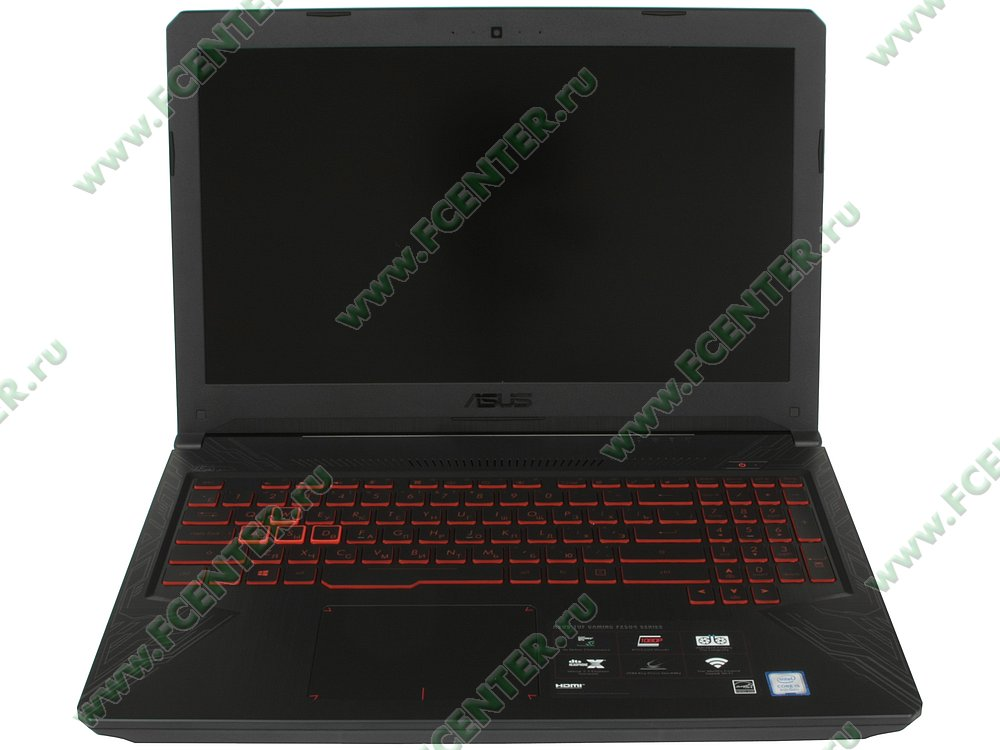 """Ноутбук ASUS """"FX504GD-E41146T"""". Фото производителя."""