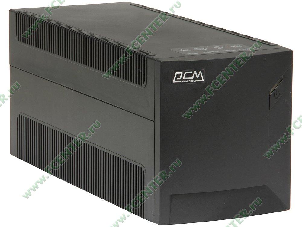 """Источник бесперебойного питания 2000ВА Powercom """"Raptor"""" RPT-2000AP (USB). Вид спереди."""