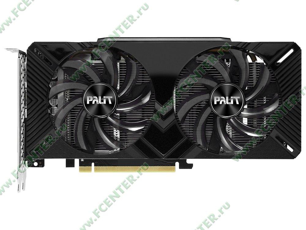 """Видеокарта Palit """"GeForce RTX 2060 Dual OC 6ГБ"""". Фото производителя 1."""