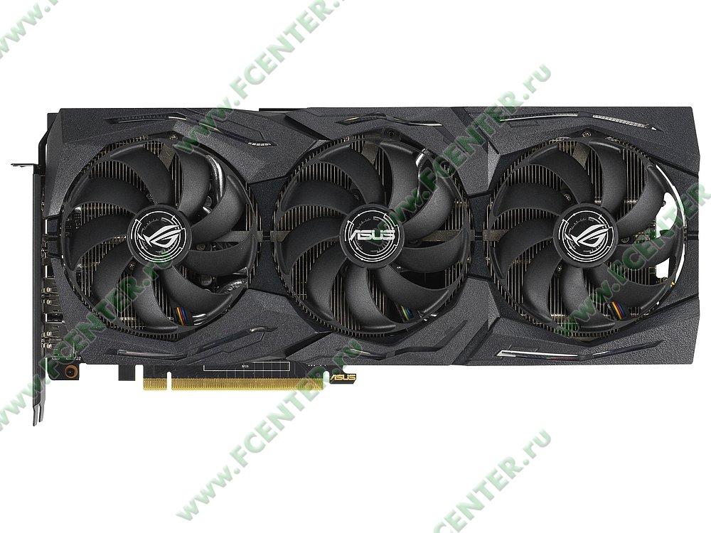 "Видеокарта ASUS ""GeForce GTX 1660 Ti 6ГБ"" ROG-STRIX-GTX1660TI-6G-GAMING. Фото производителя 1."