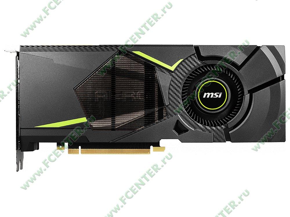 """Видеокарта MSI """"GeForce RTX 2080 AERO 8G 8ГБ"""". Фото производителя 1."""