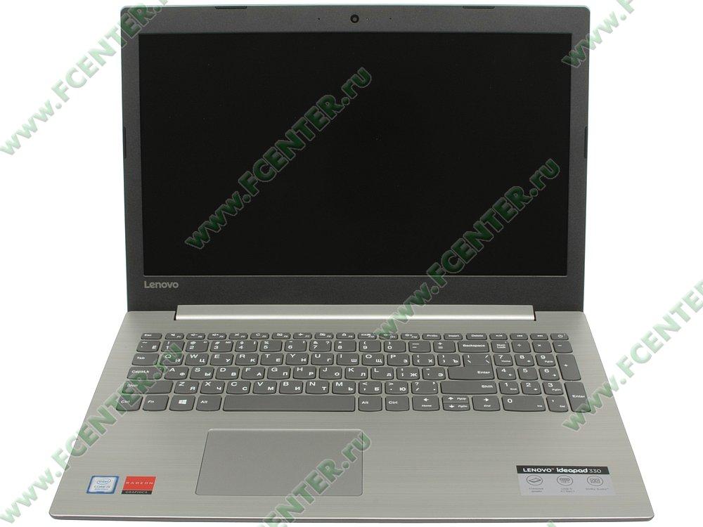 """Ноутбук Lenovo """"IdeaPad 330-15IKB"""". Вид cпереди 1."""