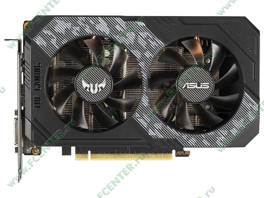 """Видеокарта ASUS """"GeForce RTX 2060 6ГБ"""" TUF-RTX2060-O6G-GAMING. Фото производителя 1."""