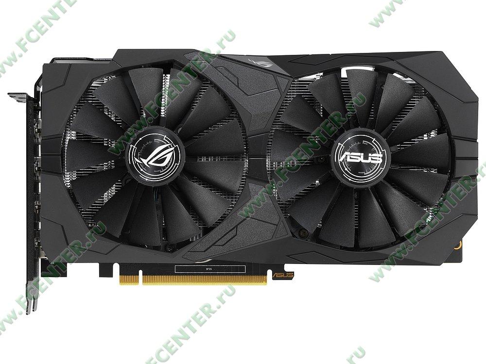 "Видеокарта ASUS ""GeForce GTX 1650 4ГБ"" ROG-STRIX-GTX1650-A4G-GAMING. Фото производителя 1."