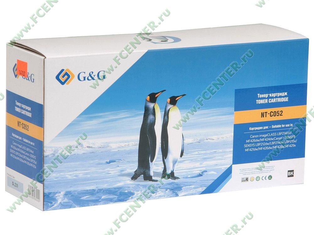 """Картридж Картридж G&G """"NT-C052"""" (черный). Коробка."""