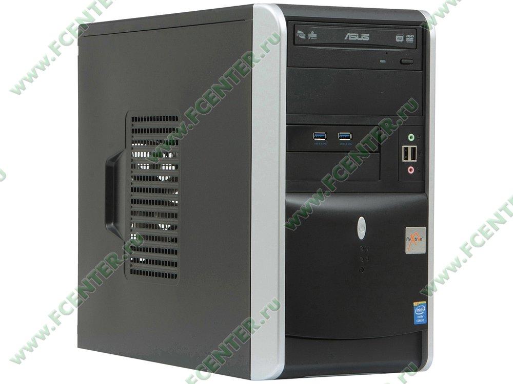 "Компьютер FLEXTRON ""Integro Pro""  (862591). Вид спереди."