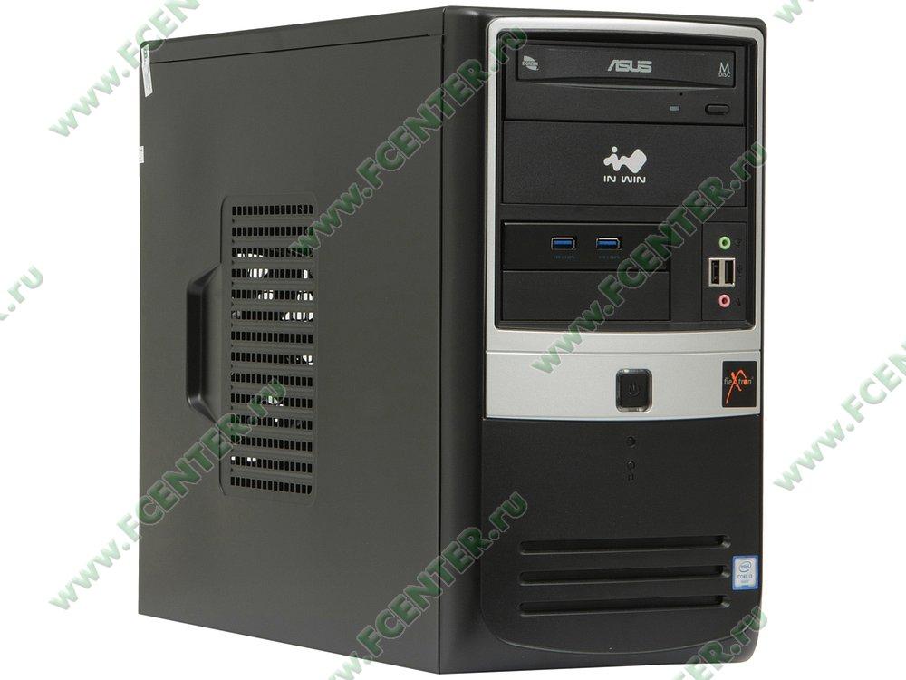 "Компьютер FLEXTRON ""Integro Pro""  (869241). Вид спереди."