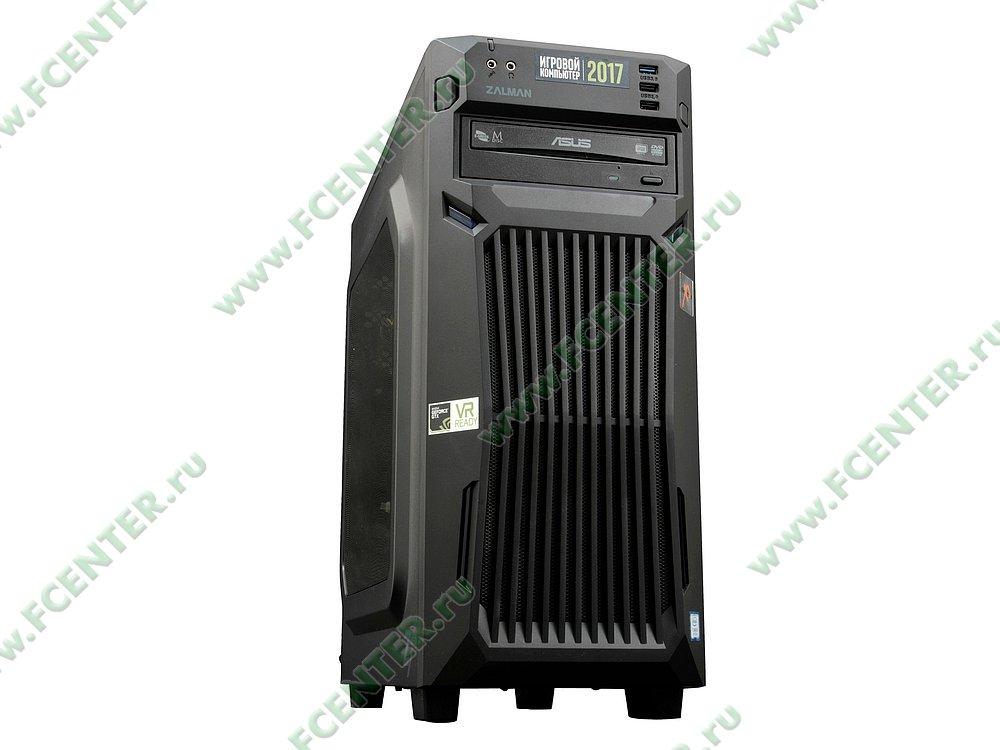 "Компьютер FLEXTRON ""Energo""  (891951). Вид спереди 1."