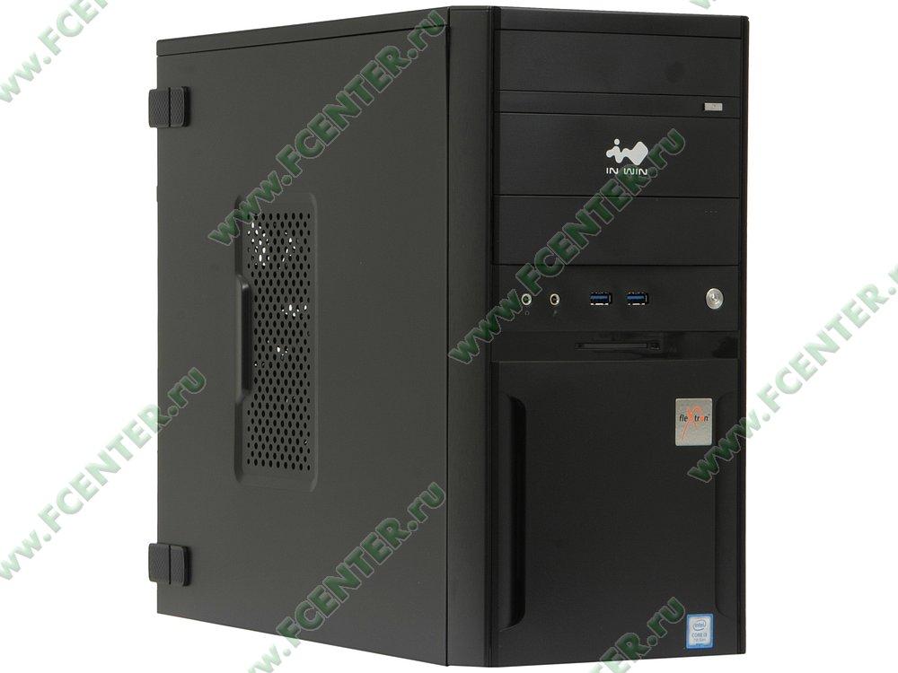 "Компьютер FLEXTRON ""Integro Pro""  (896461). Вид спереди."