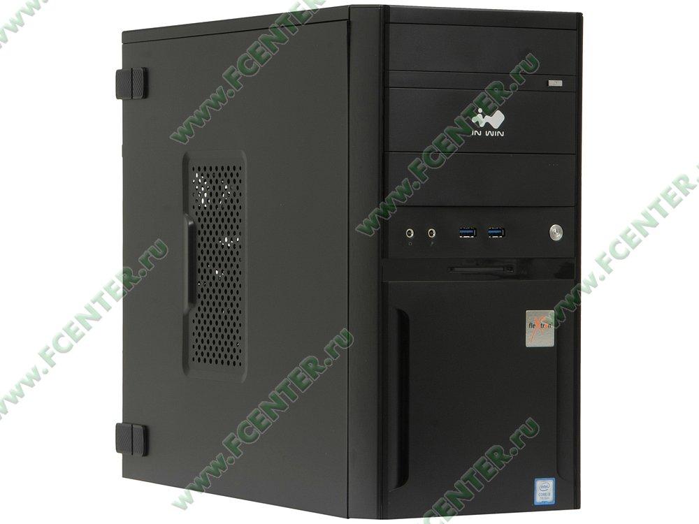 "Компьютер FLEXTRON ""Integro Pro""  (897291). Вид спереди."