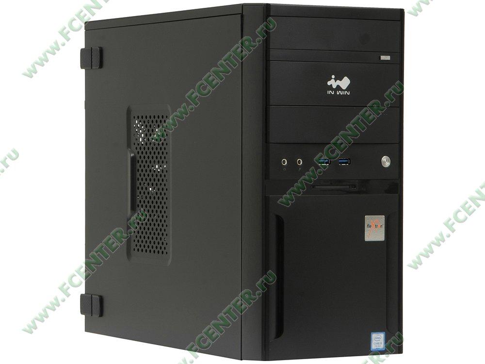 "Компьютер FLEXTRON ""Integro Pro""  (897461). Вид спереди."