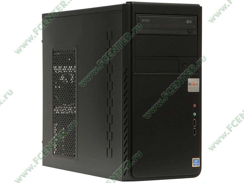 "Компьютер FLEXTRON ""Optima Pro""  (897931). Вид спереди."