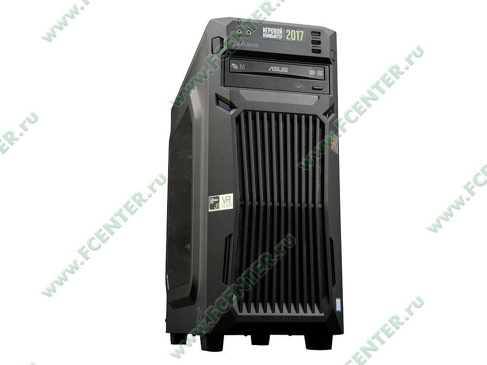 "Компьютер FLEXTRON ""Energo""  (898171). Вид спереди 1."