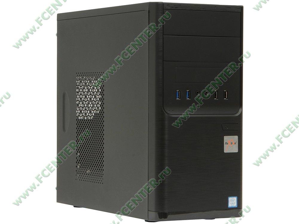 "Компьютер FLEXTRON ""Integro S""  (898791). Вид спереди."